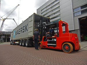 First CP 406 M shipped from Amsterdam